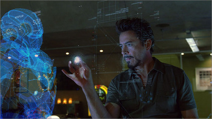 An Iron Man Like 3d Hologram Controlled by Leap Motion and Three.js | Bochis Photography | Scoop.it