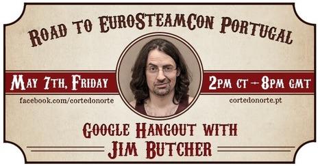 Floresta de Livros: Google Hangout com Jim Butcher - divulgação | Ficção científica literária | Scoop.it