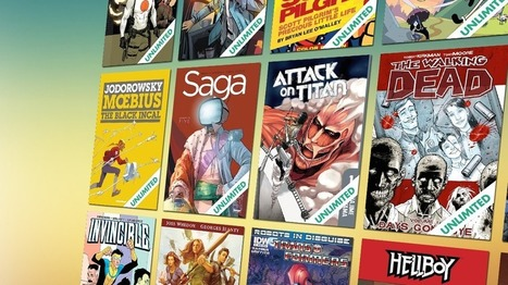 Comixology Unlimited not quite as 'unlimited' as advertised   Ebook and Publishing   Scoop.it