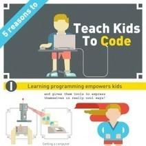 5 Reasons to Teach Kids to Code | Visual.ly | Videojuegos: desarrollo, investigación, formación y cómo aterrizar las tecnologías a lo que hacemos | Scoop.it