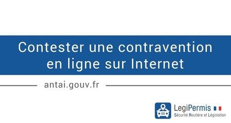 Contestation d'une contravention en ligne sur Internet - Blog LegiPermis | Sécurité routière | Scoop.it