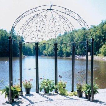 The wrought iron garden furniture: For Sale ACHLA Designs PAV-04 ...   GARDEN ARBOUR   Scoop.it
