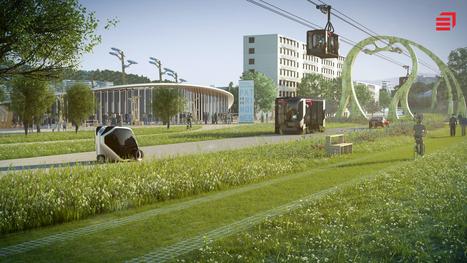 Innovation: Un « tramway-aérien » pour Bordeaux ? | New technologies and public participation | Nouvelles technologies et participation publiques | Scoop.it