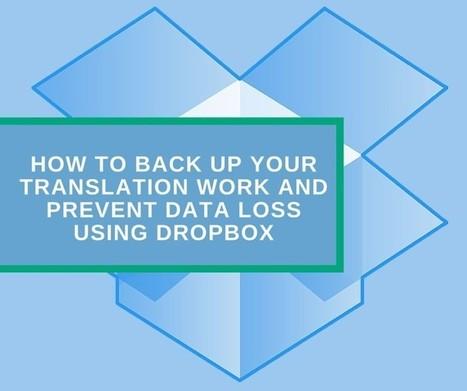 Back up your translation work using Dropbox   NOTIZIE DAL MONDO DELLA TRADUZIONE   Scoop.it