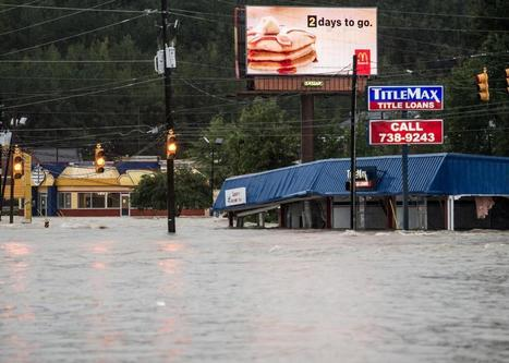 Carolinas and Charleston flooded with rain from Hurricane Joaquin | Sustain Our Earth | Scoop.it