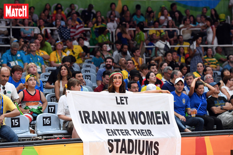 JO 2016: à Rio, elle demande l'égalité hommes-femmes dans les stades iraniens   Bravo   Vie du sportif de haut niveau   Scoop.it
