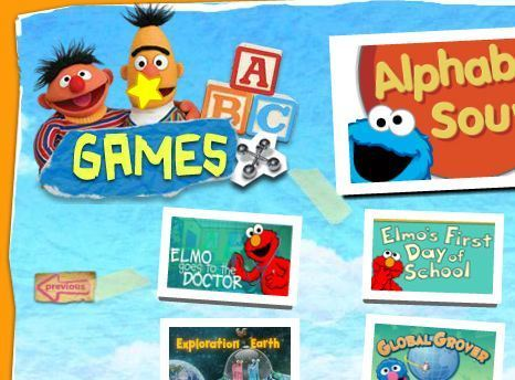 Games . Sesame Street | PBS KIDS | Jogos Educativos | Scoop.it