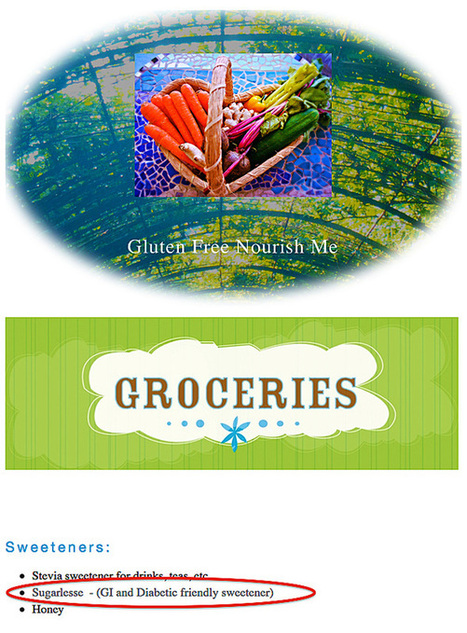 SUGARLESSe™ Endorsed by Gluten Free Advocacy Group | Healthy Recipes and Tips for Healthy Living | Scoop.it