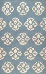 Rugsville Andalusia Blue Wool 13653 Rug - KILIMS | Modern and Contemporary Rugs | Scoop.it