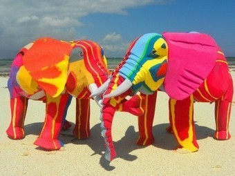 Recycled flipflops turned into playful animal toys | People, Places and Technology Enter the Classroom | Scoop.it
