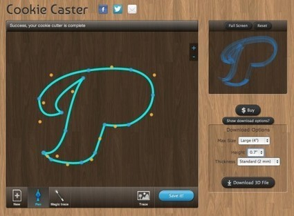 Cookie Caster custom cookie cutters   Big and Open Data, FabLab, Internet of things   Scoop.it