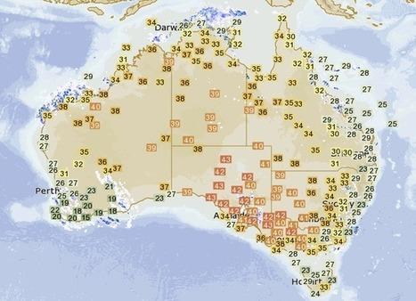 It's a scorcher: new site tracks heatwaves across Australia | STEM Connections | Scoop.it