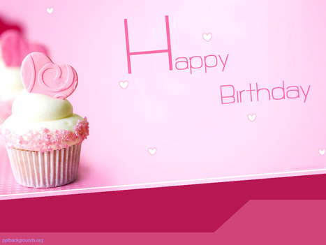 Happy Birthday Cake PPT Background   PowerPoint Backgrounds   Scoop.it