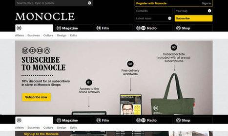 25 Beautiful Content Heavy Website Designs Inspire   Design Revolution   Scoop.it