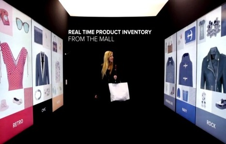 Influencia - Audace - Inspiration Corridor: le nouveau personnal shopper digital | Des Idées pour demain !  Osons les New Business Models sur tous les écrans by JODEE | Scoop.it