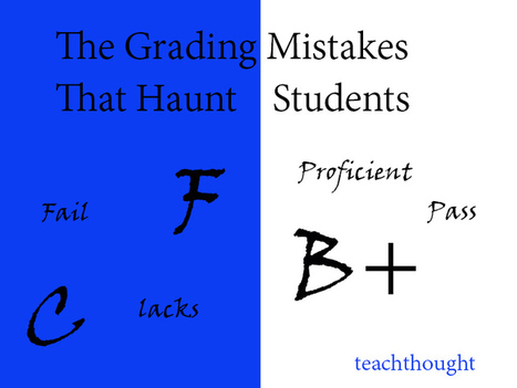 The Kinds Of Grading Mistakes That Haunt Students | Engagement Based Teaching and Learning | Scoop.it