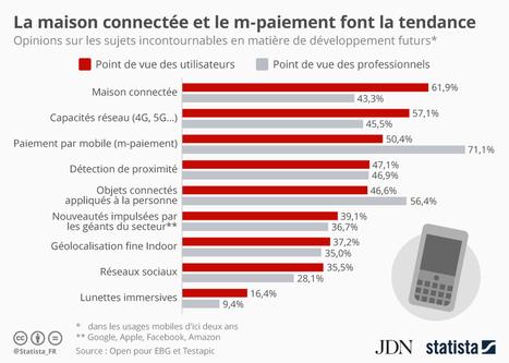 Infographie: La maison connectée et le m-paiement font la tendance | Economy & Business | Scoop.it