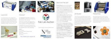The Media Computing Group : Fab Lab Aachen | Tinkering and Innovating in Education | Scoop.it