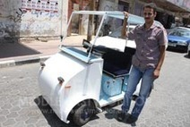 Gaza man makes electric car | Muslim | Scoop.it