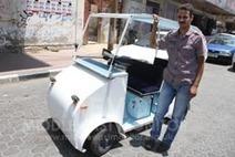 Gaza man makes electric car | Muslim | Scoop.it