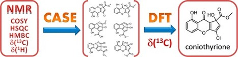 Synergistic Combination of CASE Algorithms and DFT Chemical Shift Predictions: A Powerful Approach for Structure Elucidation, Verification, and Revision | Natural Products Chemistry Breaking News | Scoop.it