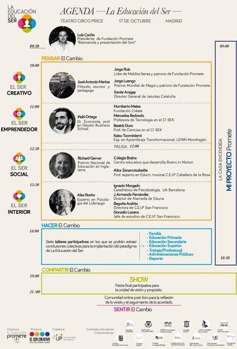 La Educación del Ser: foro de convergencia social para el cambio educativo - Fundación Promete | Altas Capacidades Intelectuales | Scoop.it
