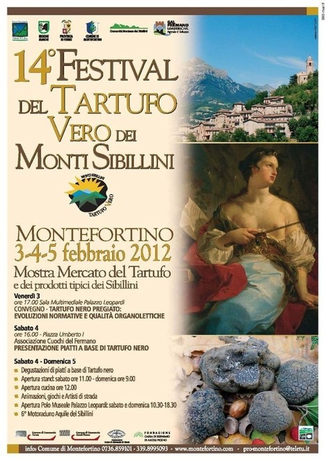 Montefortino: XIV Black Truffle Festival of the Sibillini Mountains | Le Marche another Italy | Scoop.it