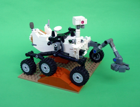 Mars fans vote to immortalise Curiosity rover in Lego - space - 18 June 2013 - New Scientist | Planets, Stars, rockets and Space | Scoop.it