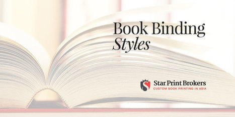 Book Bindings Styles Showcase | Star Print Brokers | Books and bookstores | Scoop.it