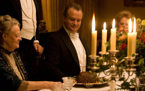 Countess of Carnarvon: Downton Abbey makers are 'setting the table wrong' - Telegraph.co.uk | hospitality | Scoop.it