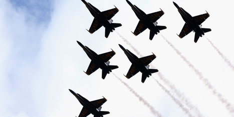 The U.S. Navy's Blue Angels Are Flying High Again | Veterans | Scoop.it