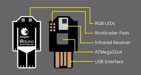 IRduino: Arduino-compatible USB IR Receiver | Open Source Hardware News | Scoop.it