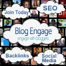 Blog Engage Boosts Your Blog To New Readers Around The World | It's All About SEO | Scoop.it