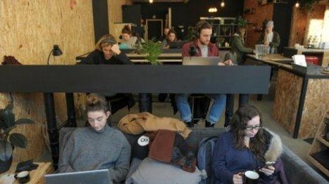 Des cafés canadiens réinventent l'espace de travail | Teletravail et coworking | Scoop.it
