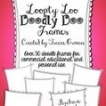 Loopty-Loo Doodly-Doo Clip Art Frames Commercial Use - Tracee Orman | Card Bubble | Scoop.it