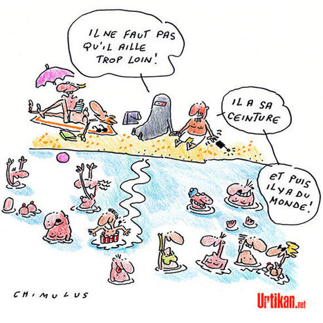 Daesh à la plage… | Dessinateurs de presse | Scoop.it