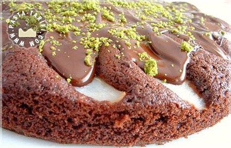 Kestaneli Armutlu Çikolatalı Kek   Kek Tarifleri   Scoop.it