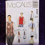 Crafts Sewing Fabric Sewing Sewing Patterns mccall s mens vests   eBay   Fiber Arts   Scoop.it
