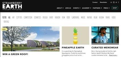 Strawberry Earth Academy: une académie pour promouvoir les innovations mode et design durables | Veille, actualités et tendances pour tous les passionnés de mode, d'art et de design | Scoop.it