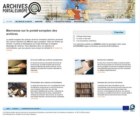Archives Portal Europe | 694028 | Scoop.it