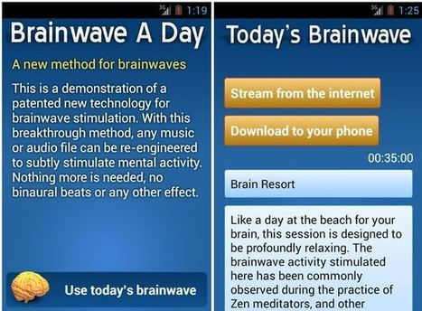 Free Brainwave Entrainment App for Your Android | Freelance Writers Resources | An Expat Freelance Writer's Thoughts | Scoop.it