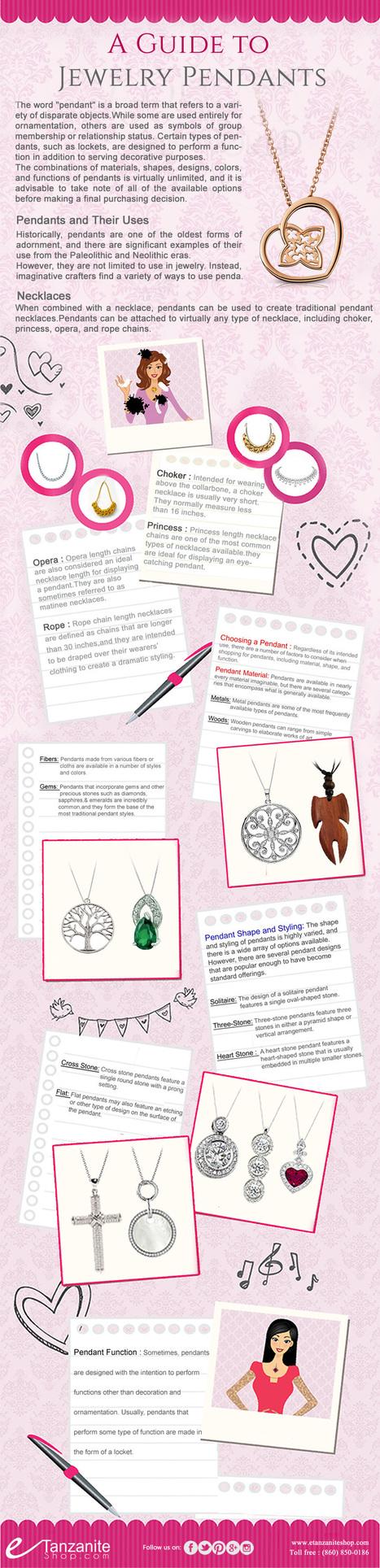 Gemstone Pendants - A Complete Guide To Jewelry Pendants | Etanzanite Shop | Scoop.it