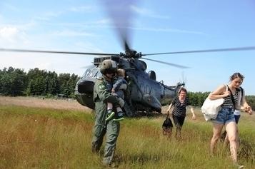Streitkräftebasis: Marinehubschrauber evakuiert Bürger aus Neuermark-Lübars | Marinehubschrauber | Scoop.it