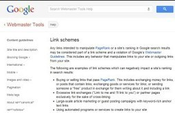 Understanding Google's Latest Assault On Unnatural Links | Web 2.0 Marketing Social & Digital Media | Scoop.it