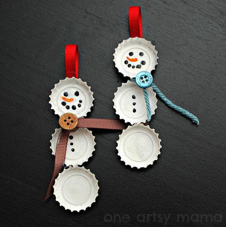 20 Creative DIY Christmas Ornament Ideas | Christmas Decorations | Scoop.it