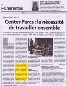 Mobilisation des entreprises pour le projet Center Parcs.   ChâtelleraultActu   Scoop.it