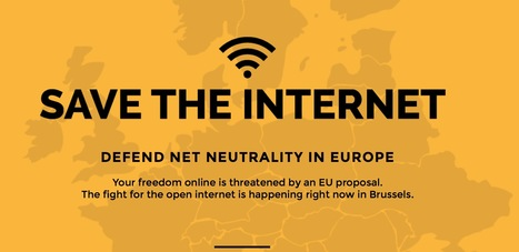 #SaveTheInternet - The fight for the open internet is happening right now in Brussels - #netneutrality | Digital #MediaArt(s) Numérique(s) | Scoop.it