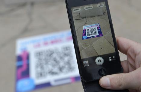 Des stickers grand format équipés de tags NFC et QR Codes à l'occasion de la fête des Lumières de la Ville de Valence | Tag&Play: NFC, partagez en temps réel toutes vos informations | Scoop.it