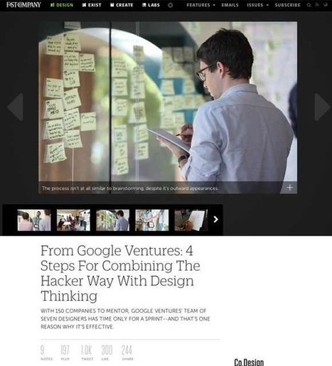 Design | Google Ventures | Digital Homeostasis | Scoop.it