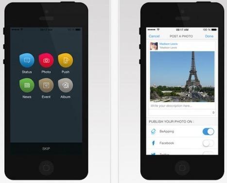 BeApping, une seule plate-forme pour gérer tous ses comptes sur les réseaux sociaux   T42   Scoop.it